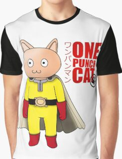 One Punch-Cat Graphic T-Shirt