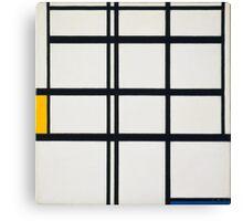 Piet Mondrian, Dutch, Title Composition in Y Canvas Print