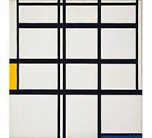 Piet Mondrian, Dutch, Title Composition in Y Photographic Print