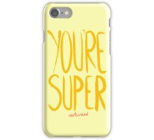 Love Me, Love Me Not: You're Super...Awkward iPhone Case/Skin