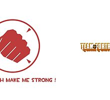 Team fortress 2 - Heavy - Sandvich make me strong ! - Red by Kookynetta