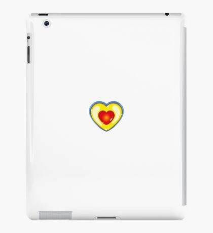 Concept Heart - Zelda, A Link To The Past iPad Case/Skin