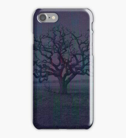 Lonely Dark Tree iPhone Case/Skin