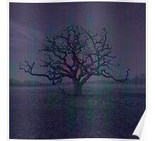 Lonely Dark Tree Poster