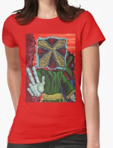 Ancient Visitors Womens Fitted T-Shirt