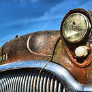 Blue sky and rust  by GWGantt