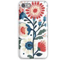 modern flower design iPhone Case/Skin