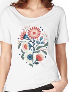 modern flower design Women's Relaxed Fit T-Shirt