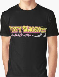 Pussy Wagon Logo Variant Graphic T-Shirt