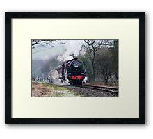 Steam Train on the East Lancs Railway Framed Print