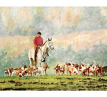Fox Hunt Photographic Print