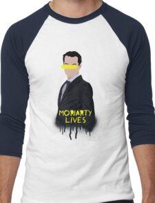 Moriarty Lives Men's Baseball ¾ T-Shirt
