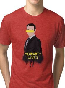 Moriarty Lives Tri-blend T-Shirt