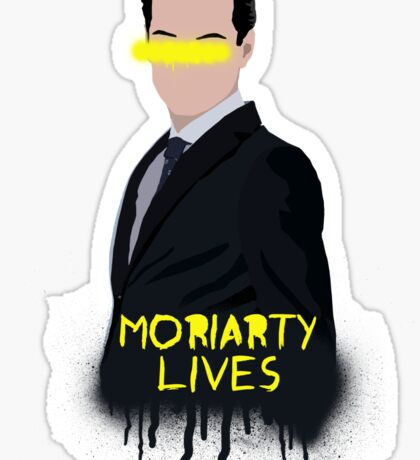 Moriarty Lives Sticker