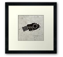 The Empire remembers Framed Print