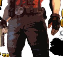 Duke Nukem Sticker