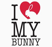 I love my bunny! Unisex T-Shirt