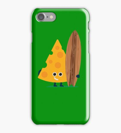 Character Building - Cheeseboarder iPhone Case/Skin