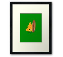 Character Building - Cheeseboarder Framed Print