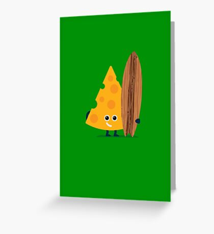 Character Building - Cheeseboarder Greeting Card