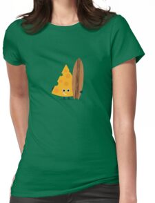 Character Building - Cheeseboarder Womens Fitted T-Shirt