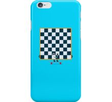 Character Building - Chessboarder iPhone Case/Skin
