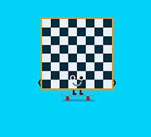 Character Building - Chessboarder by SevenHundred