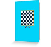 Character Building - Chessboarder Greeting Card