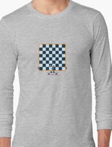 Character Building - Chessboarder Long Sleeve T-Shirt