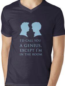I'd Call You A Genius II Mens V-Neck T-Shirt