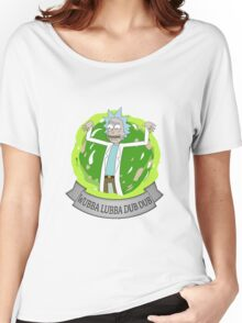 Wubba Lubba Dub Dub Women's Relaxed Fit T-Shirt