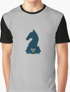 Character Building - Chessboarder Graphic T-Shirt