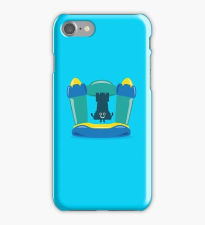 Character Building - Bouncy Castle iPhone Case/Skin