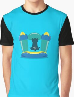 Character Building - Bouncy Castle Graphic T-Shirt
