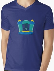 Character Building - Bouncy Castle Mens V-Neck T-Shirt