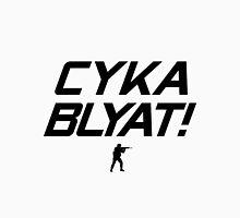 CS:GO Cyka Blyat! Black Unisex T-Shirt
