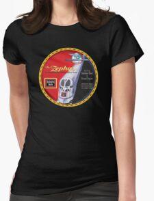 Burlington Rail Zephyr Train Womens Fitted T-Shirt