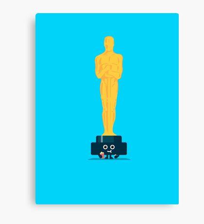 Character Building - Oscar Noms Canvas Print