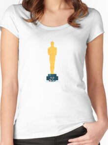 Character Building - Oscar Noms Women's Fitted Scoop T-Shirt