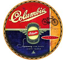 Columbia Vintage Bicycles Photographic Print