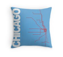 Chicago Collection Throw Pillow