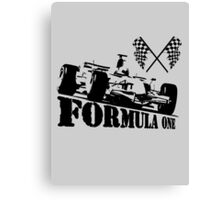 formula one, formula car Canvas Print