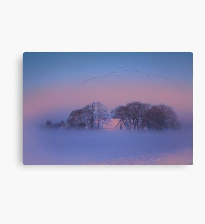 Winter kingdom Canvas Print
