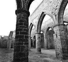 Saint-Mathieu - L'Abbaye by Jean-Luc Rollier