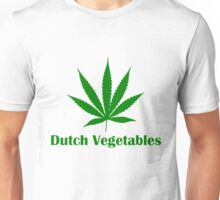 Dutch Vegetables weed leaf Unisex T-Shirt
