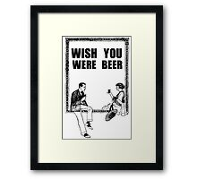 Awesome Drunk Party Time Beer Vintage Framed Print