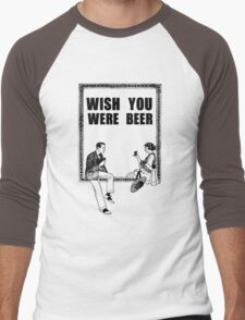Awesome Drunk Party Time Beer Vintage Men's Baseball ¾ T-Shirt