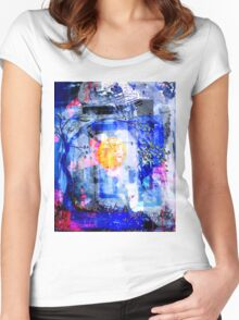 Remixed trees 3 Women's Fitted Scoop T-Shirt