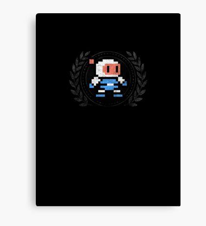 Bomberman - Sprite Badge 2 Canvas Print