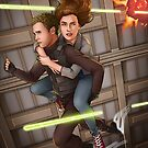 Fitzsimmons - Space Rollerblades by eclecticmuse